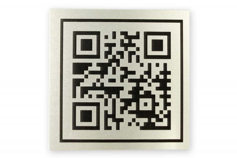 engraving and marking with Alumark QR codes